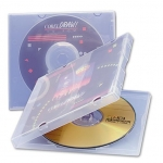 (Clear) Single Cd Poly Case (50 Pcs)
